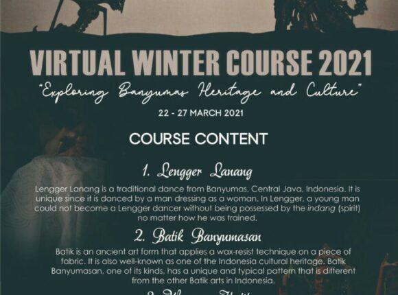 Virtual International Winter Course 2021